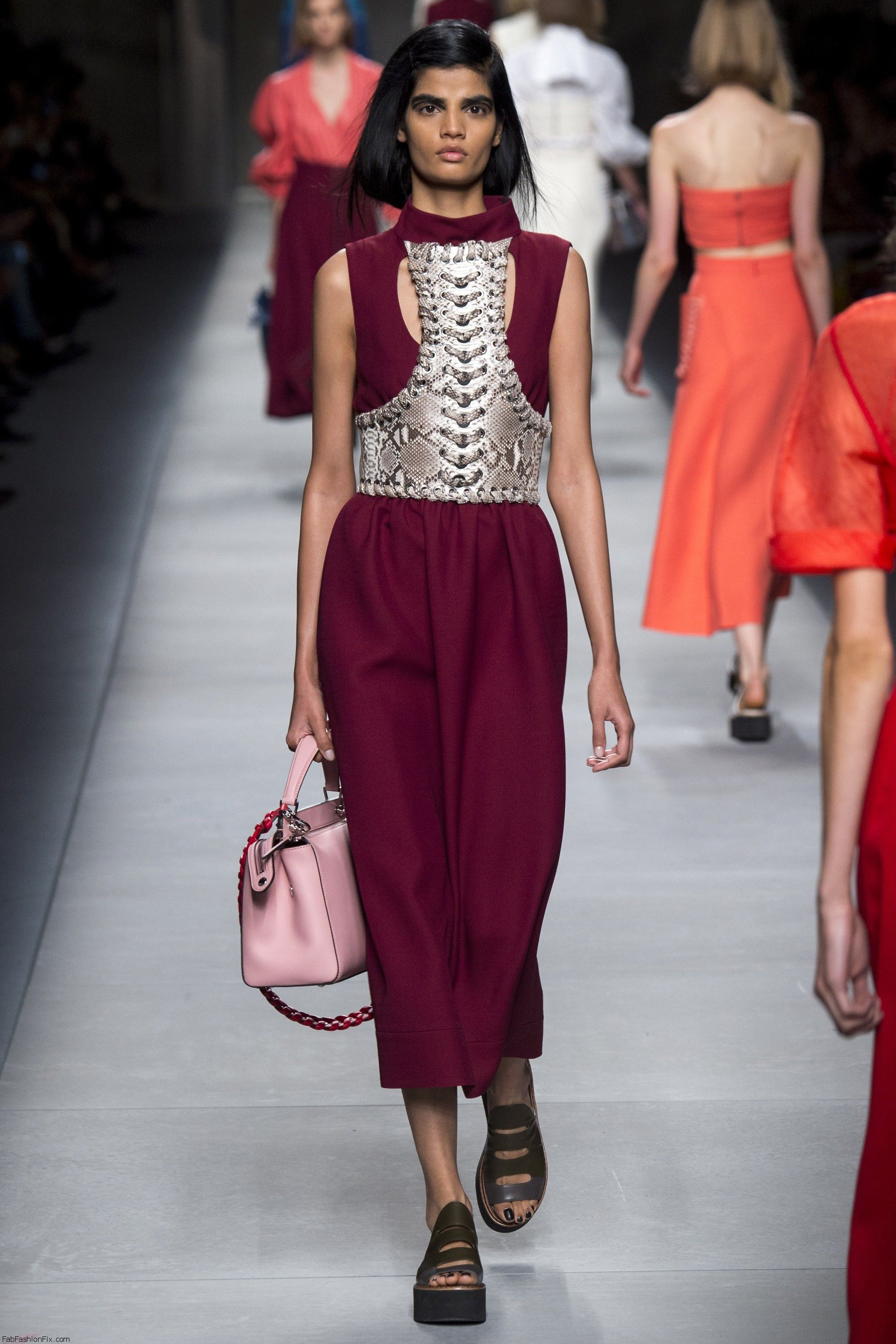 Fendi Spring Summer 2016 Collection Milan Fashion Week