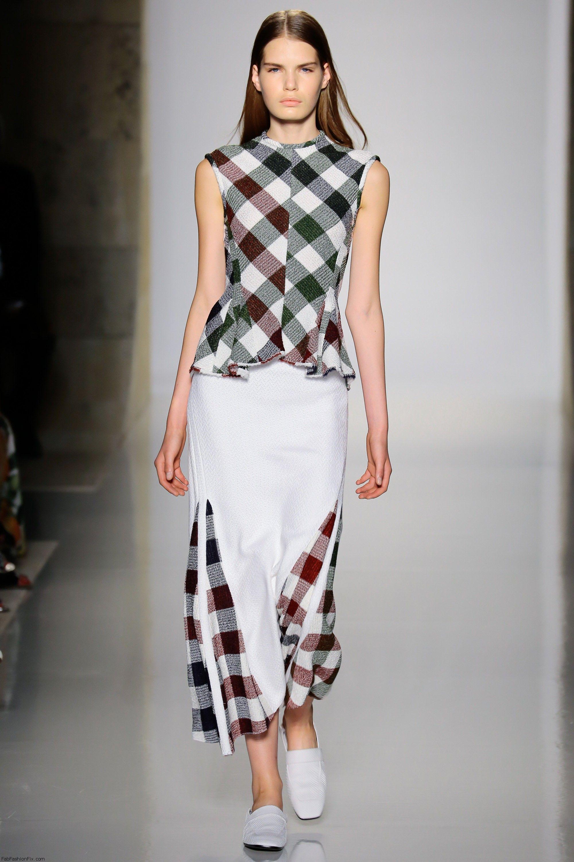 Victoria Beckham Spring/summer 2016 Collection - New York Fashion Week