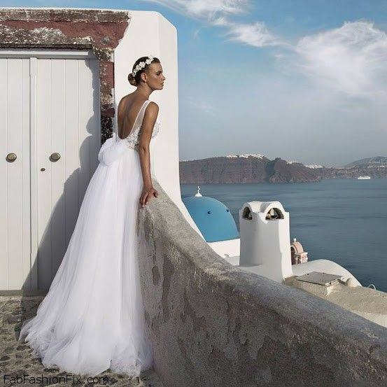 Julie Vino Santorini 2016 Bridal Collection