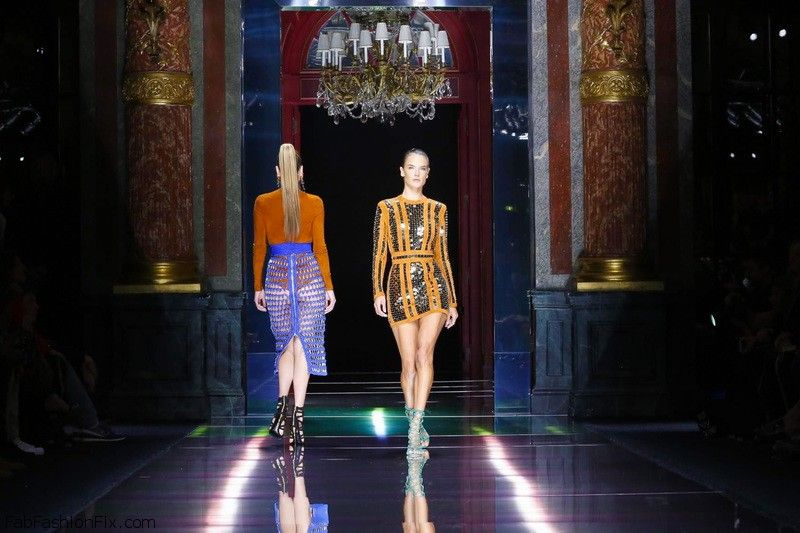 Balmain Fashion Show, Ready to Wear Collection Spring Summer 2016 in Paris