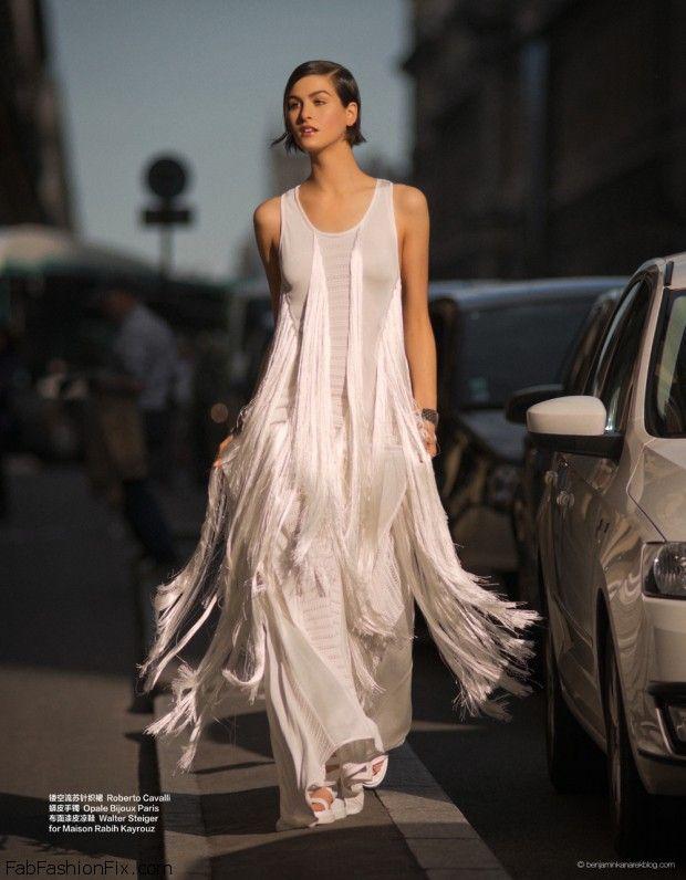 Athena Wilson bride for Harper's Bazaar by Benjamin Kanarek