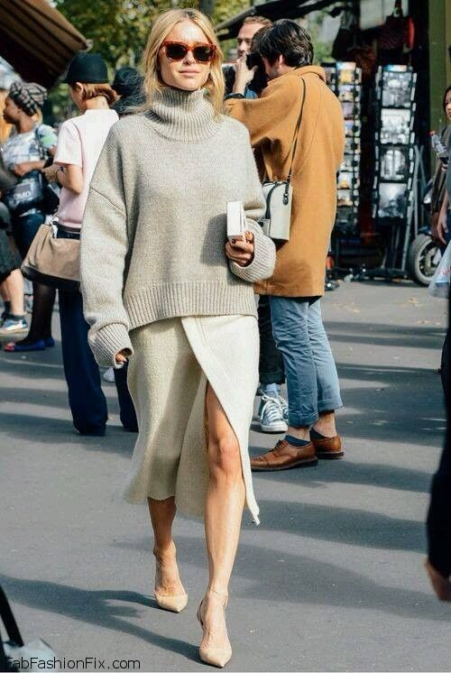 Style Guide How To Wear Oversized Sweater This Fall