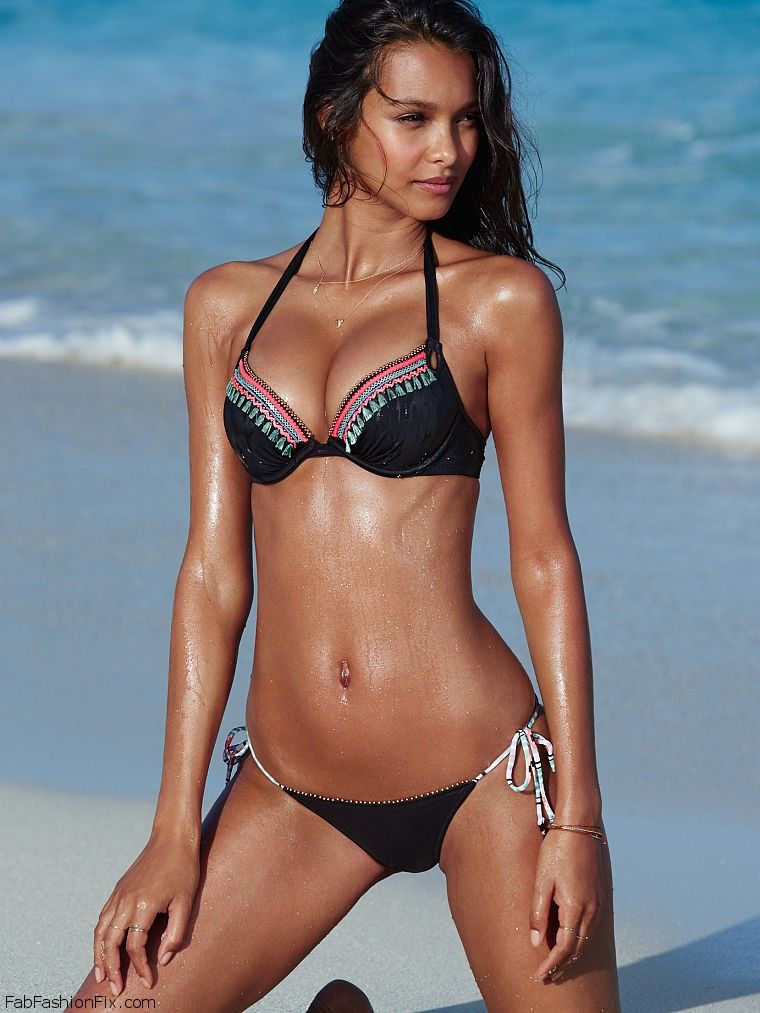 Summer Vibes With Victoria`s Secret Swim Catalog 2015