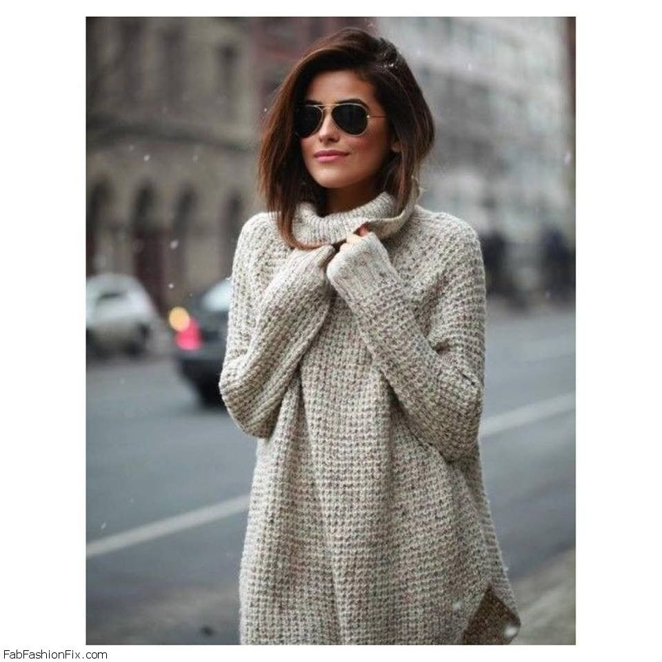 Style Guide: How to wear oversized sweater this fall? | Fab ...