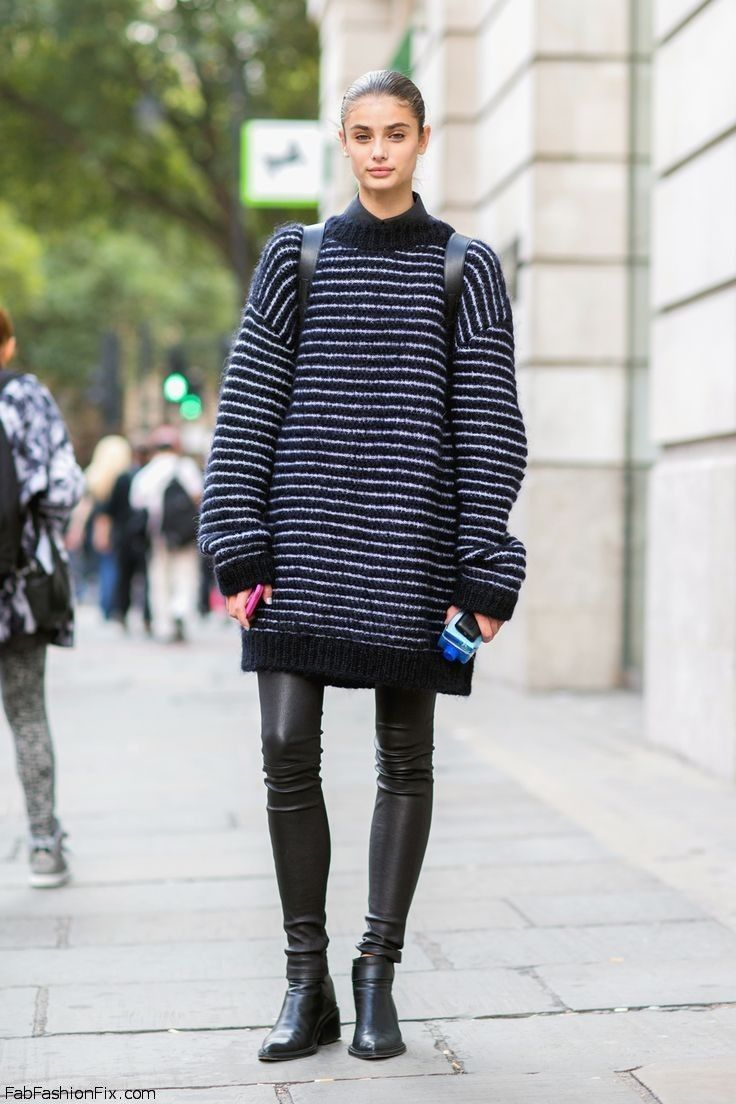 Style Watch: How celebrities wear oversized sweater?
