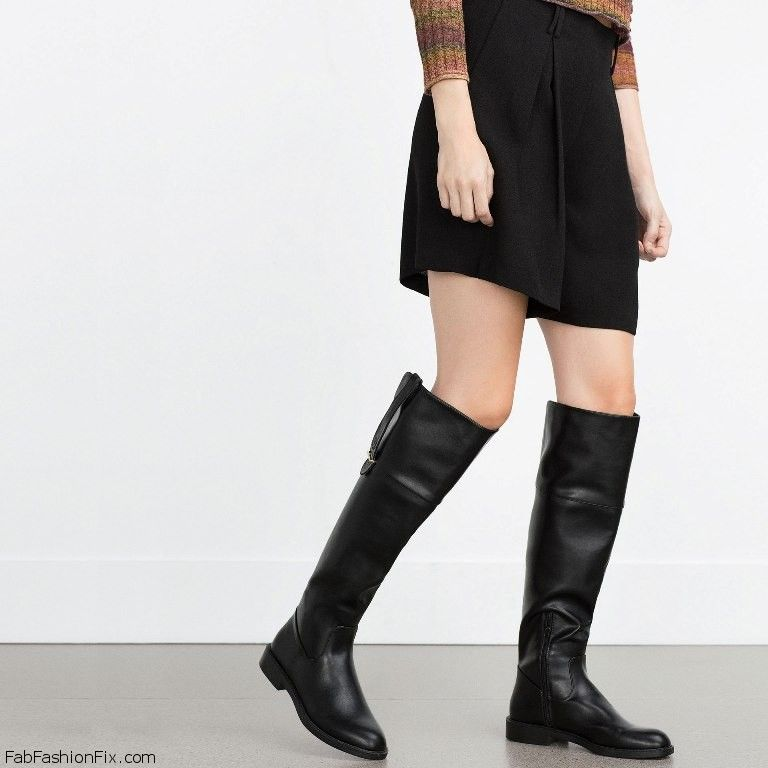 Zara LACE-UP FLAT OVER THE KNEE BOOTS Sale Eastbay Pre Order Online Cheap Sale Popular Cheap Sale Perfect 6tPs2iZtw