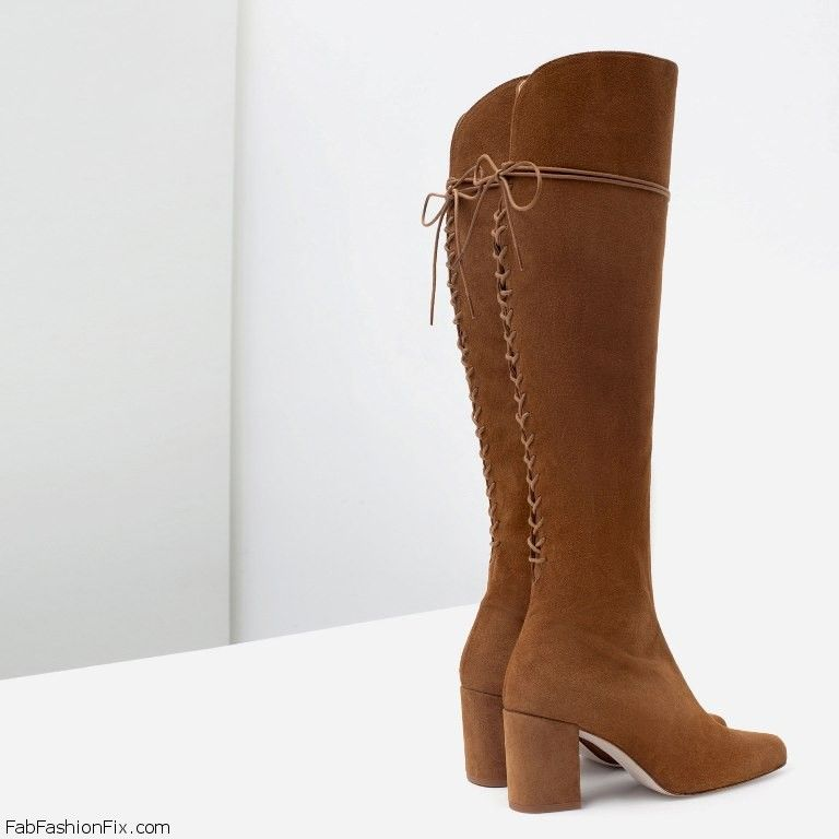 827c3b9b3db ZARA boots collection for fall winter 2015 - Fab Fashion Fix