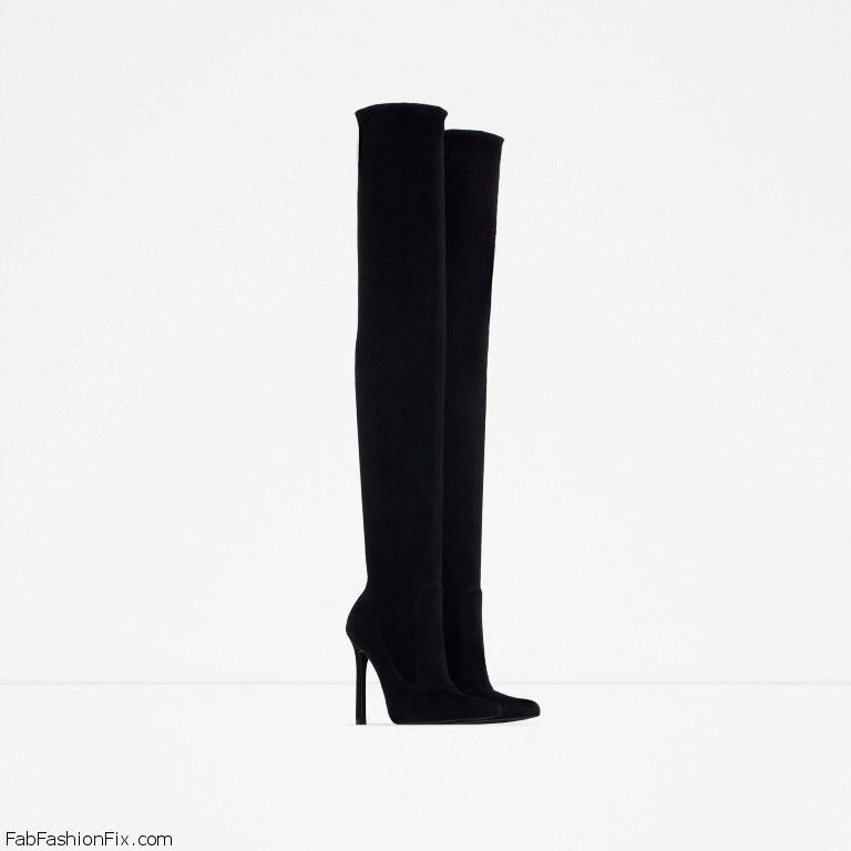 754aa13ec72 ZARA boots collection for fall winter 2015 - Fab Fashion Fix