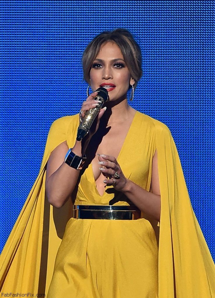 jlo in yellow