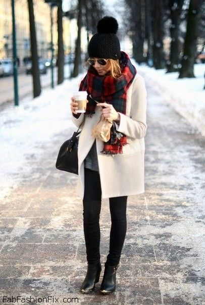 Style Guide: How to wear scarf this winter?