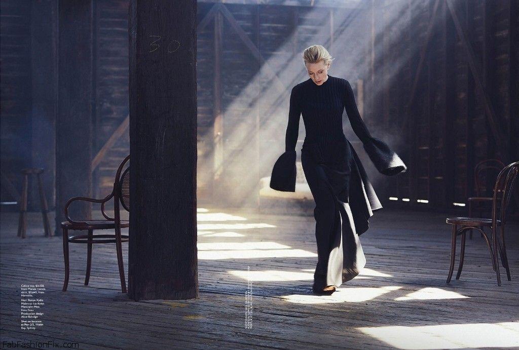 Cate Blanchett graces the cover of Vogue Australia ...