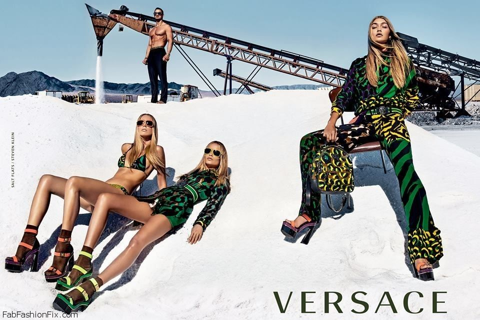 Versace Spring/Summer 2016 Campaign