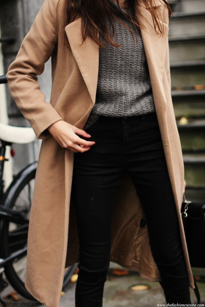 Style Guide: How To Wear Camel Coat This Winter?