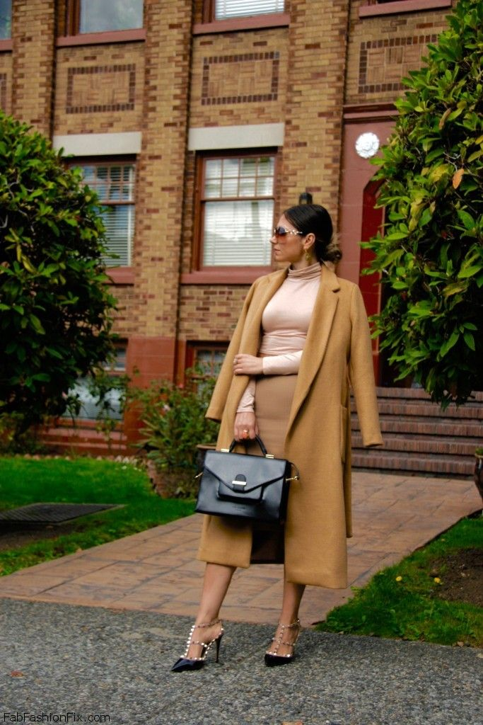 Style Watch: How fashion bloggers style and wear camel coat?