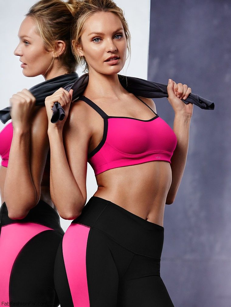 Candice Swanepoel Shows Her Incredible Figure For New Victoria`s Secret 2016 VSX Collection