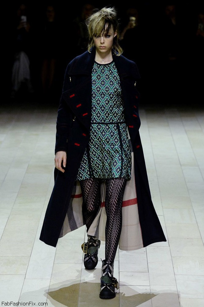 Burberry fall/winter 2016 collection - London fashion week