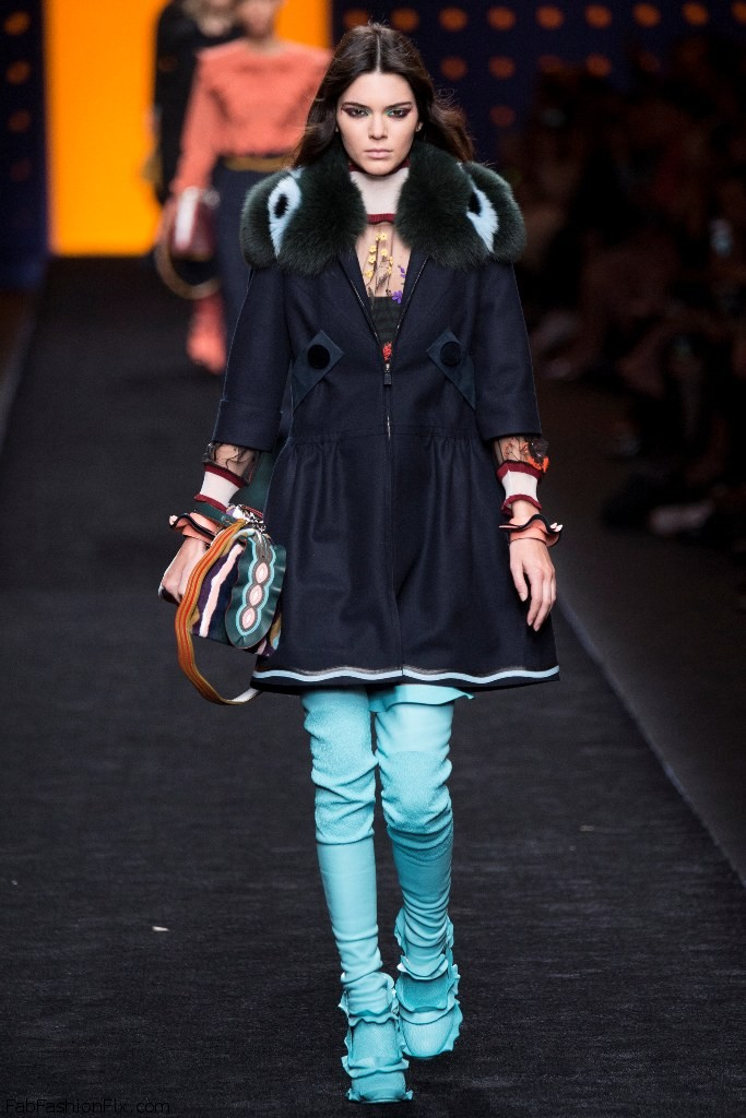 Fendi Fall/winter 2016 Collection - Milan Fashion Week