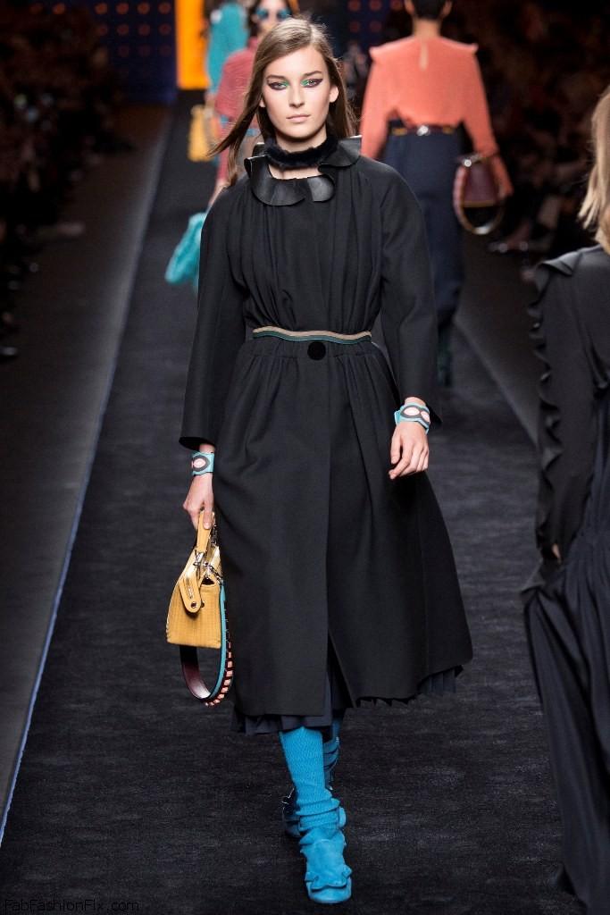0dd394eddd8225 Fendi fall winter 2016 collection – Milan fashion week