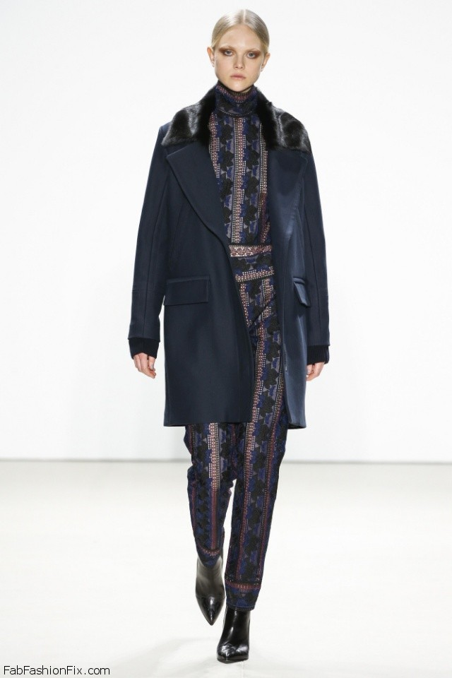 Yigal Azrouel Fall Winter 2016 Collection New York