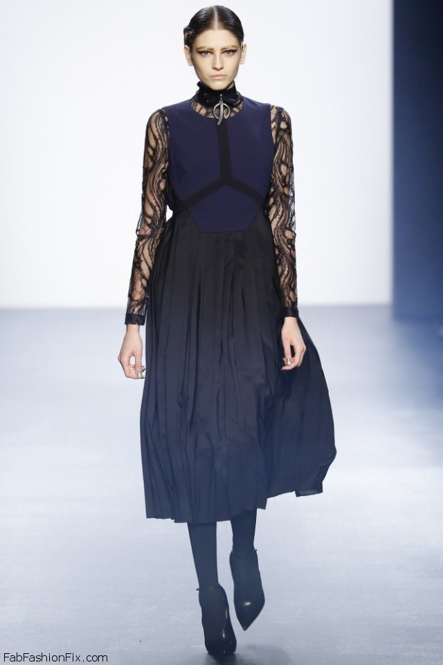 Bibhu Mohapatra fall/winter 2016 collection - New York fashion week