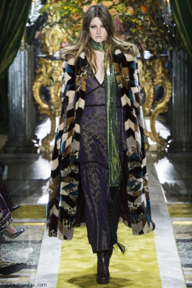 Roberto Cavalli Fall/winter 2016 Collection - Milan Fashion Week