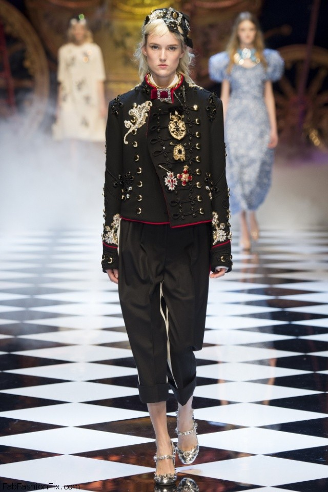 Dolce & Gabbana Fall/winter 2016 Collection - Milan Fashion Week