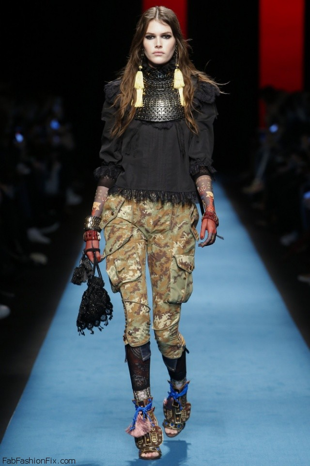 Dsquared2 fall/winter 2016 collection - Milan fashion week