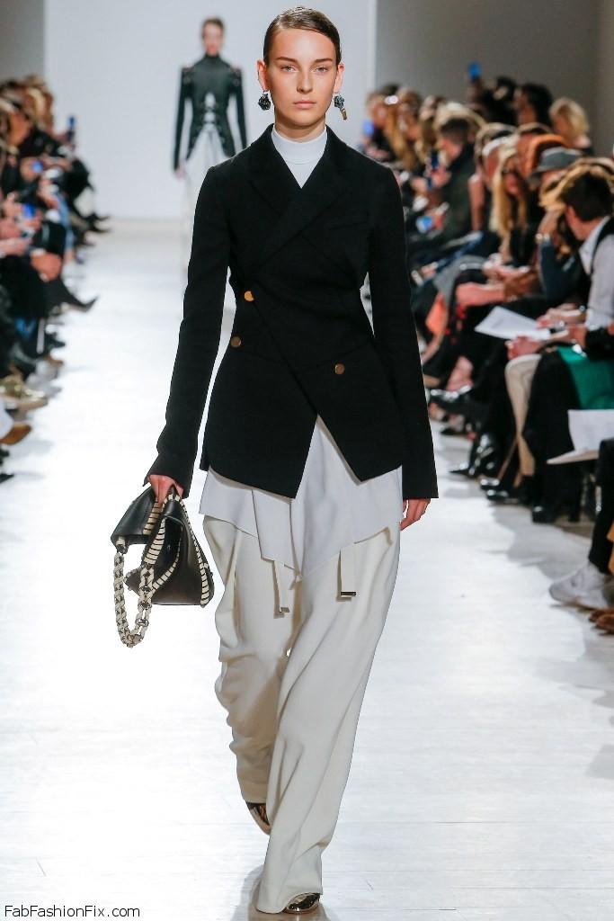 Proenza Schouler fall/winter 2016 collection - New York fashion week