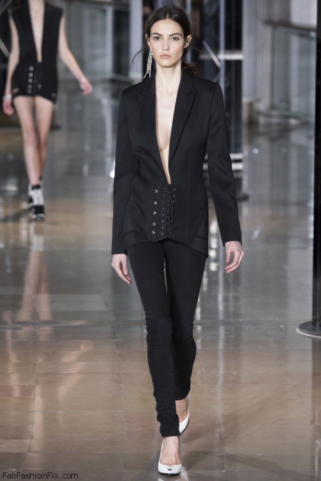 Anthony Vaccarello Fall/winter 2016 Collection - Paris Fashion Week
