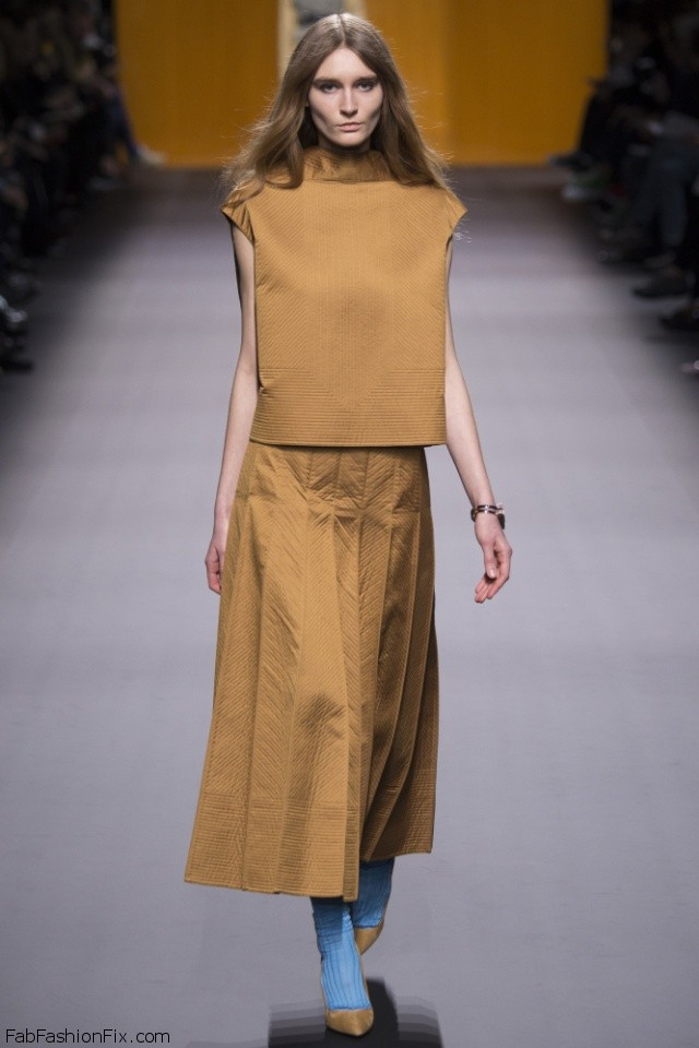 Hermes Fall/winter 2016 Collection - Paris Fashion Week