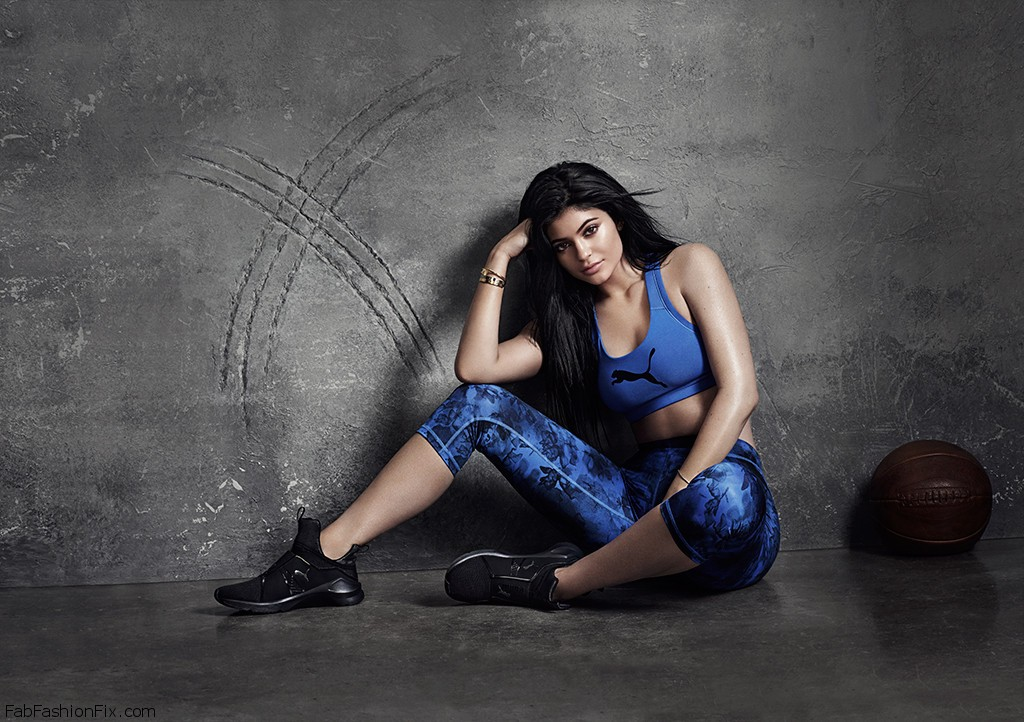 Kylie Jenner shares the first official image from her Puma Campaign