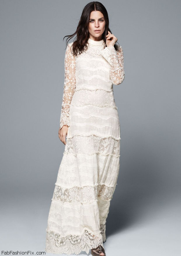 H&M launched its first Bridal Conscious Collection