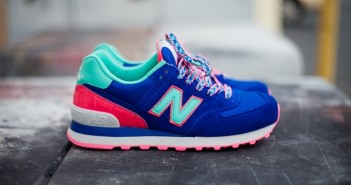 New Balance sneakers.
