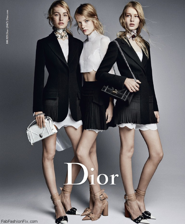 Dior gives an homage to femininity, glamour and modernity in the new spring/summer 2016 campaign