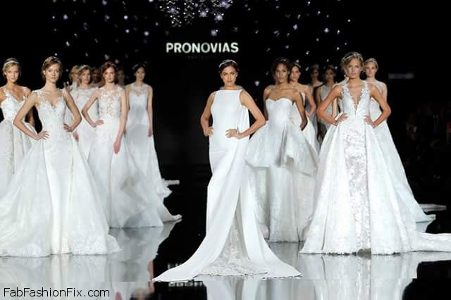 Pronovias presents glamorous Atelier Pronovias 2017 Collection