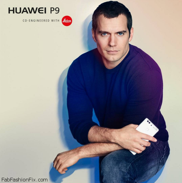 Henry-Cavill-promoting-the-Huawei-P9-on-Instagram