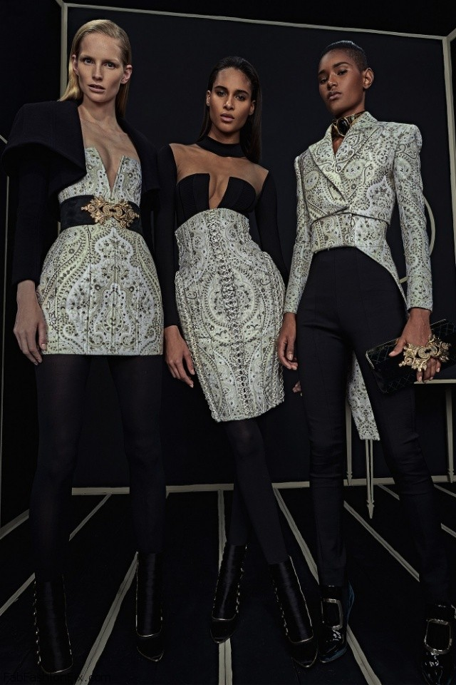 Balmain Pre-Fall 2016 Collection