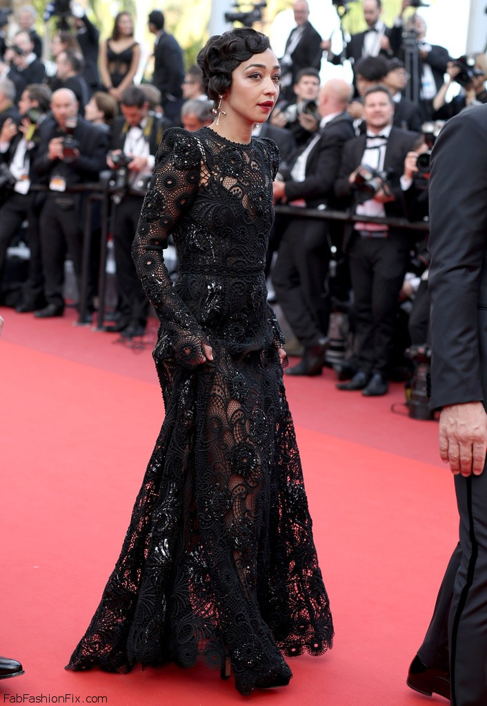 "Actress Ruth Negga attends the ""Loving"" premiere during the 69th annual Cannes Film Festival at the Palais des Festivals on May 16, 2016 in Cannes, France. Photo: Zimbio"