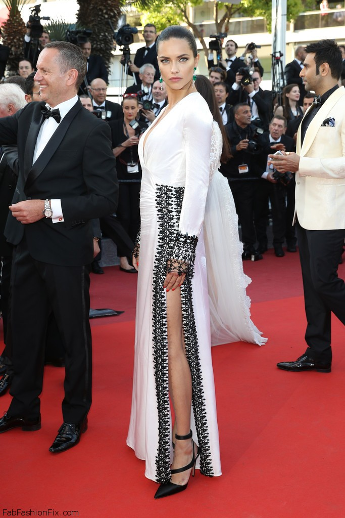 adriana lima at cannes 2016