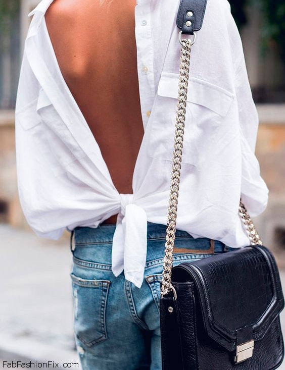 Style Watch: Turn it around, wear your shirt backwards!