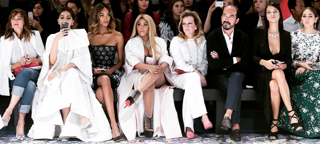 Front-Row at Ralph & Russo AW16-17