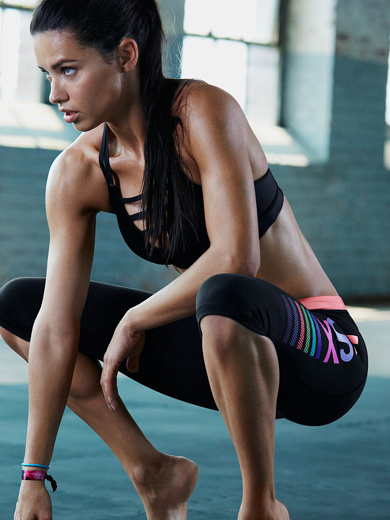 Adriana Lima Shares Her Workout Routine For The New Victoria`s Secret VSX Collection