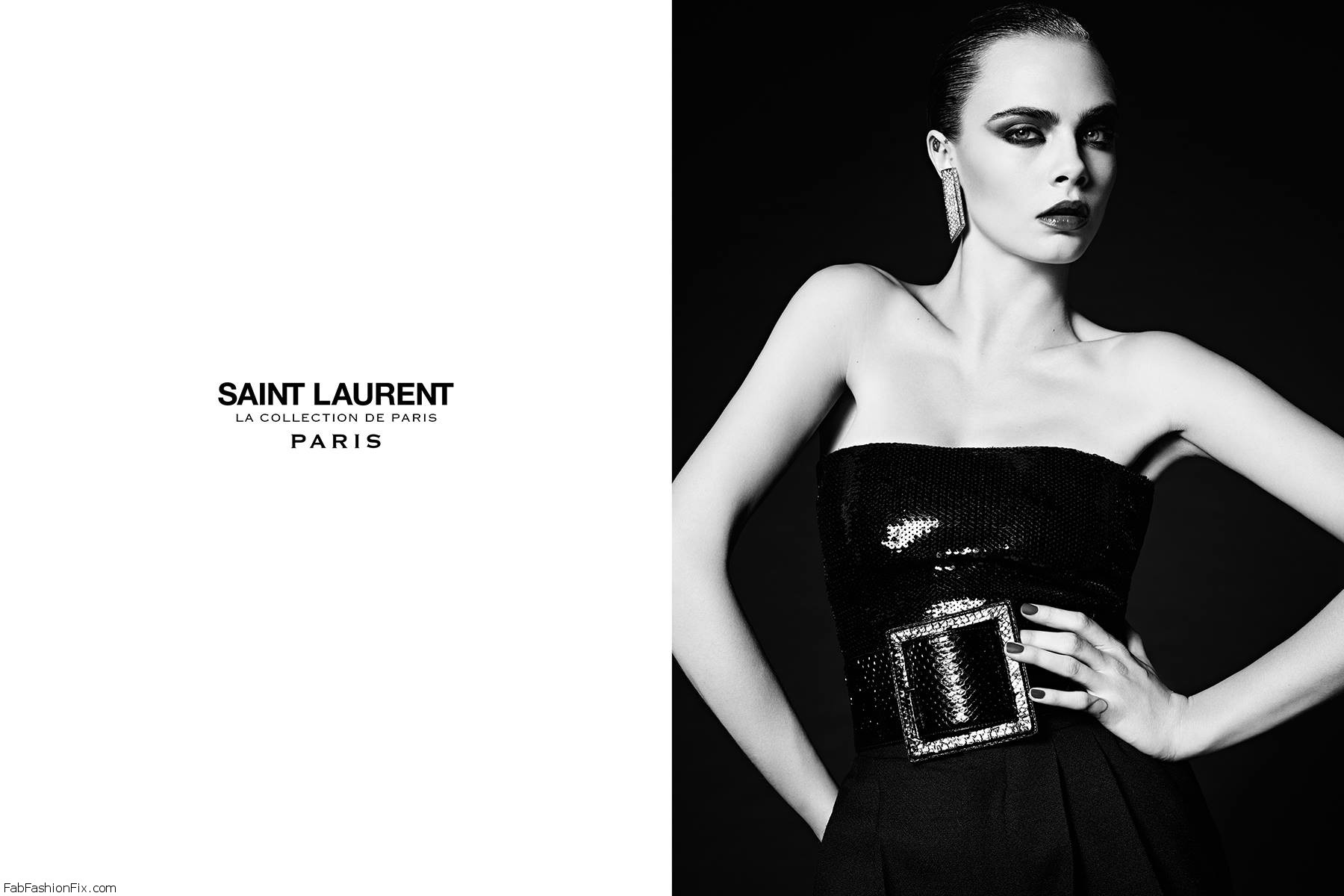Cara Delevingne Is The Face Of Saint Laurent's La Collection De Paris Campaign