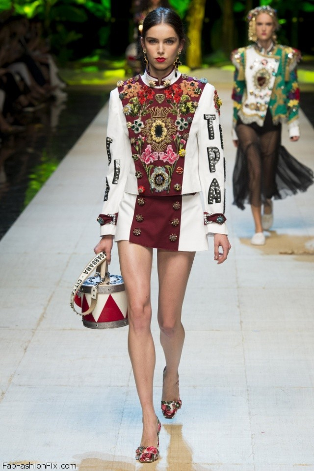 Dolce & Gabbana spring/summer 2017 collection - Milan fashion week