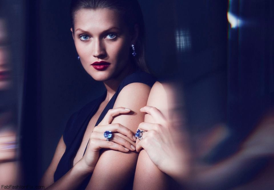 Toni Garrn exudes elegance in new Cartier jewelry campaign