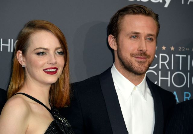 "The star of movie ""La La Land"", Emma Stone attended the 2016 Critics' Choice Awards"