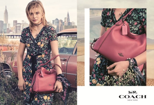 Chloe Moretz Stars In Coach New York`s Spring 2017 Campaign