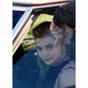 Chloe Moretz for Coach 2017