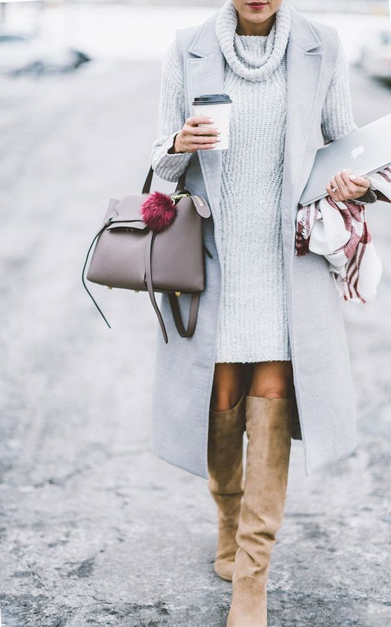 Style Watch: 10 stylish ways to wear sweater dress this winter