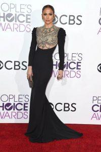 Jennifer Lopez wins Favorite Actress in TV Crime Drama at People's Choice Awards 2017.
